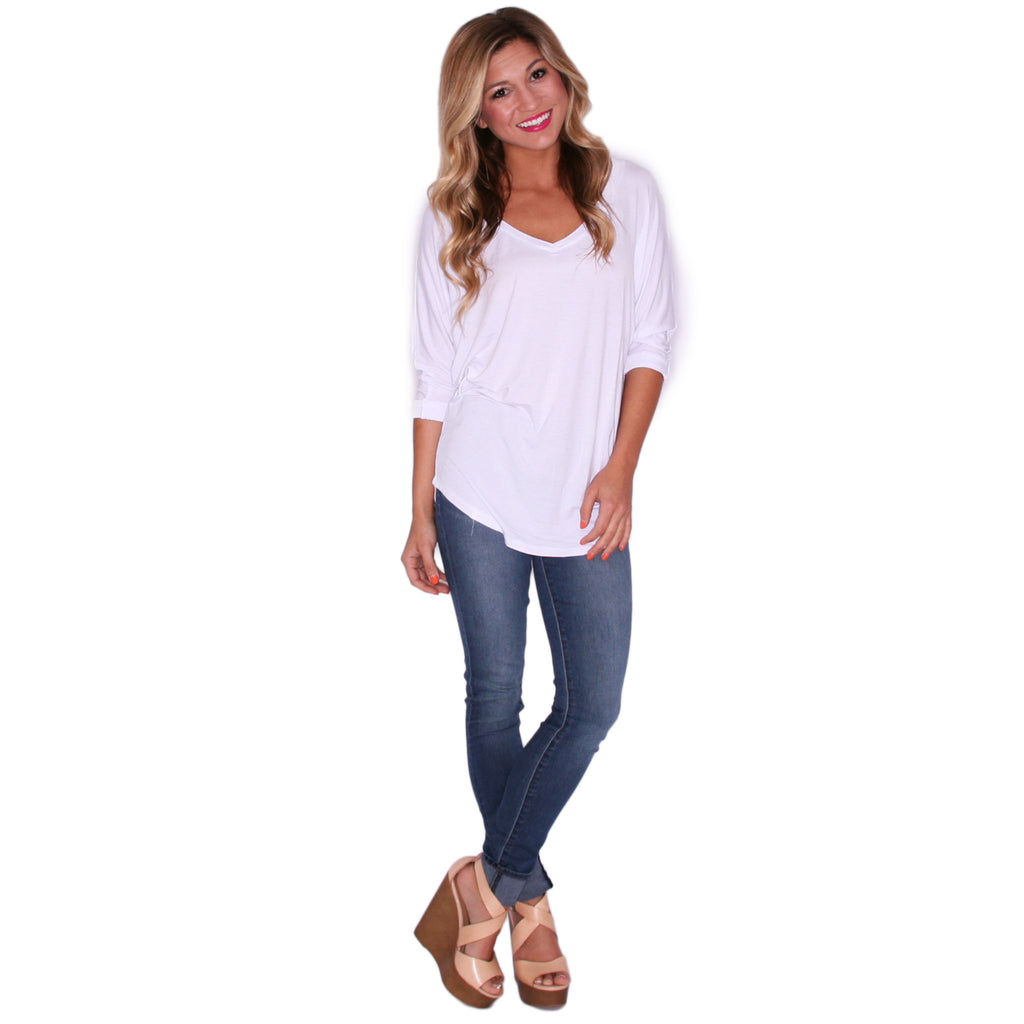 Porch Party Tunic White