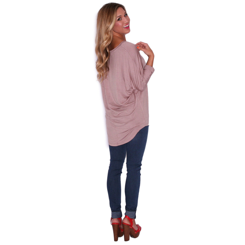 Porch Party Tunic Taupe
