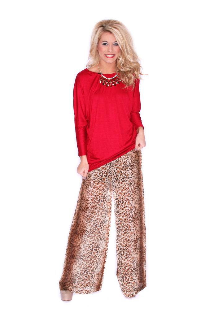 Pretty Chic Pant Cheetah
