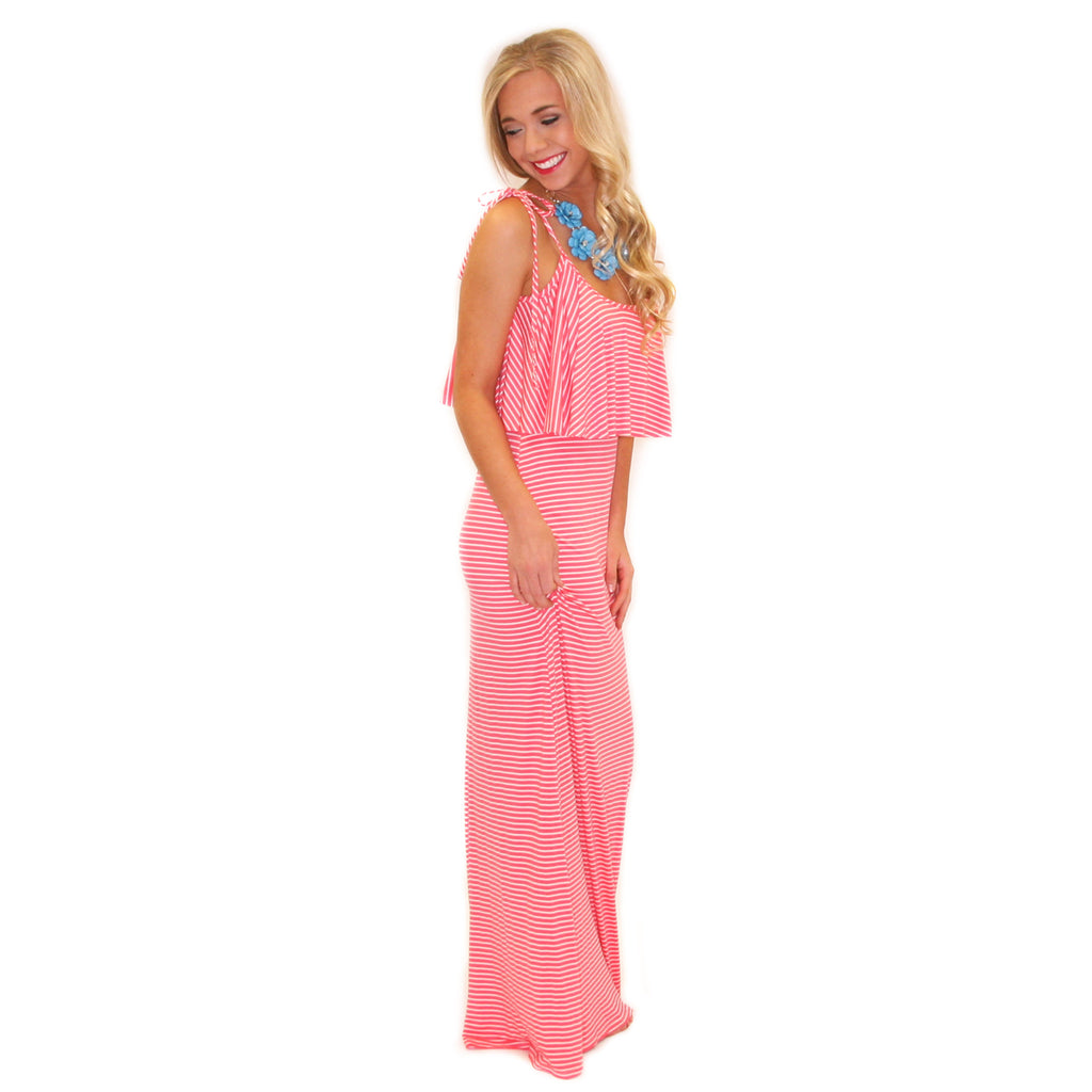 Pretty Little Thing Maxi Coral