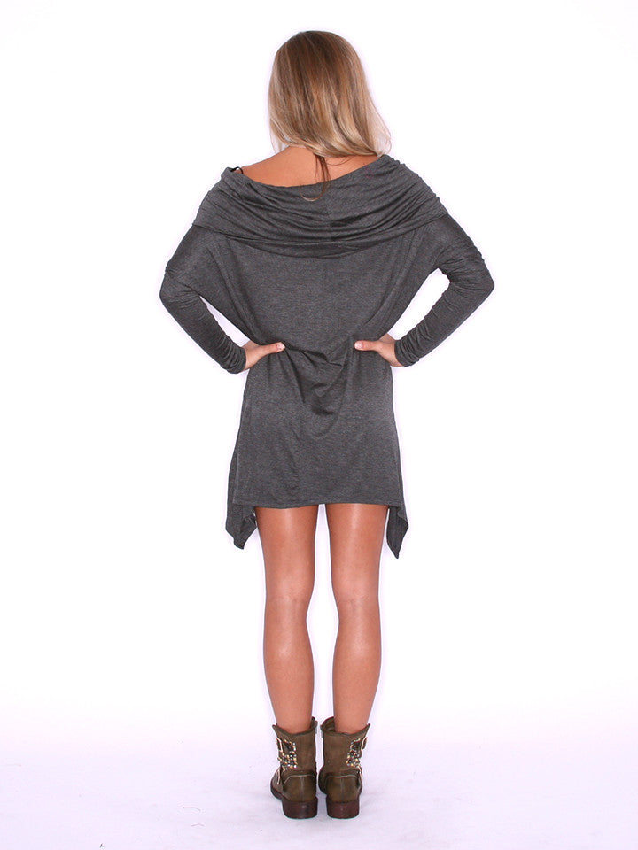 Perfection Tunic Charcoal