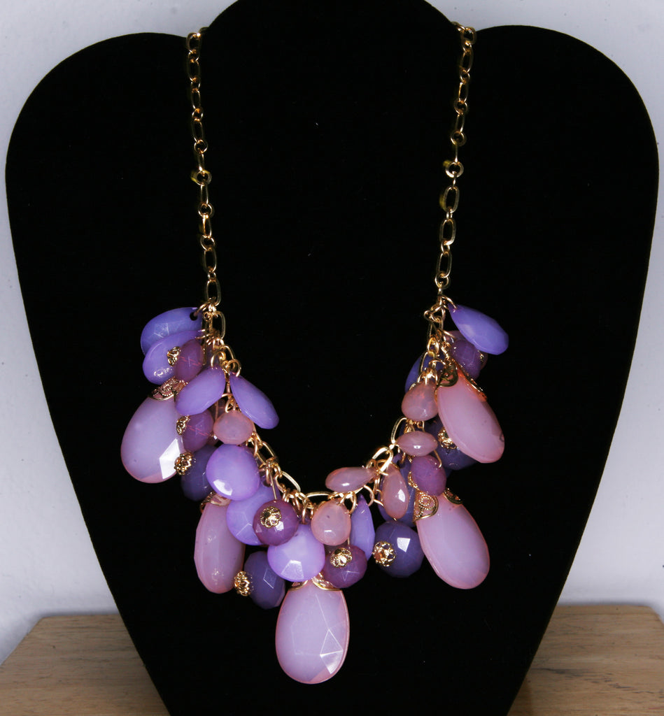 Glam Teardrop Necklace