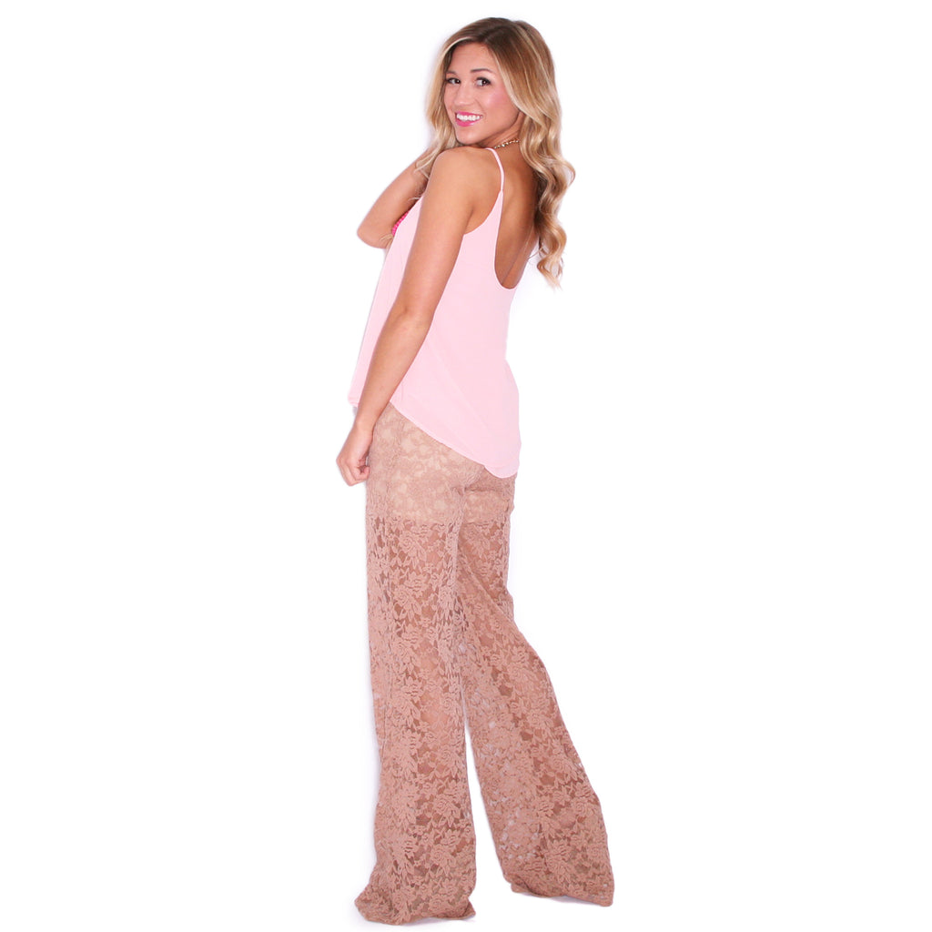 Queen Bee Pant Taupe