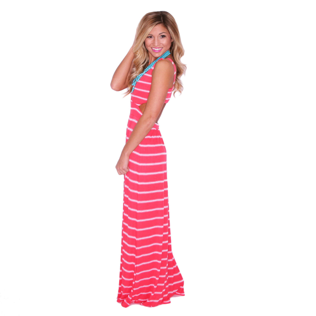 Sailor Crushing Maxi in Red
