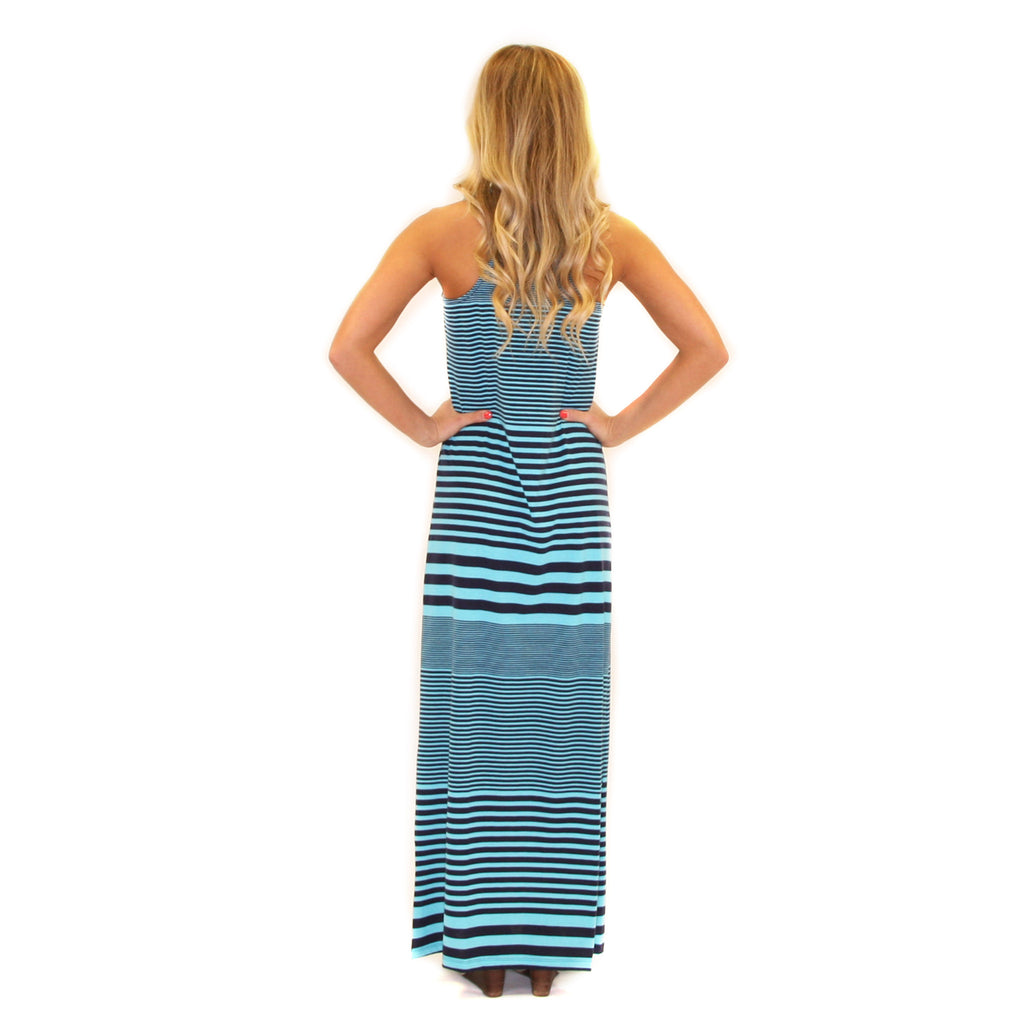 Salty Kisses Maxi Aqua