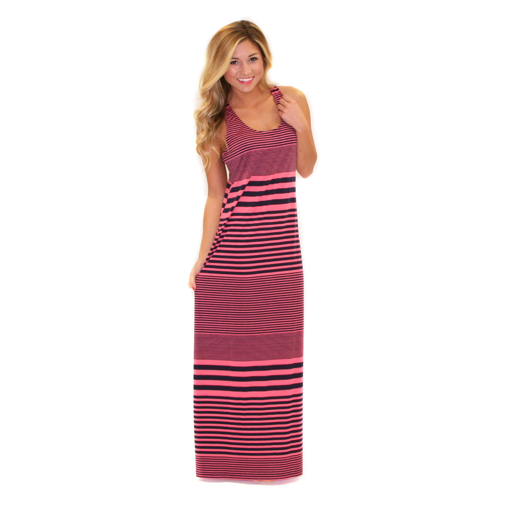 Salty Kisses Maxi Coral