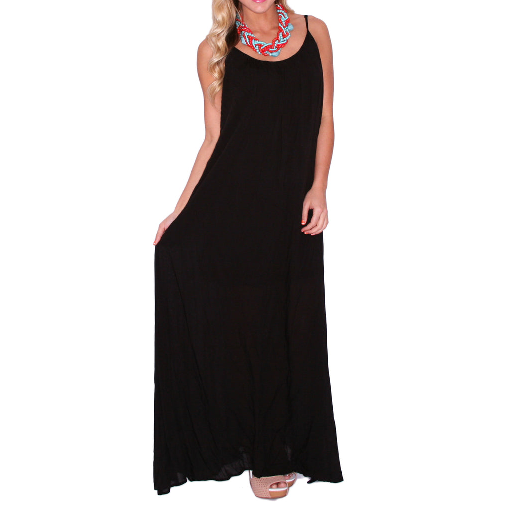 San Francisco Strolling Maxi in Black