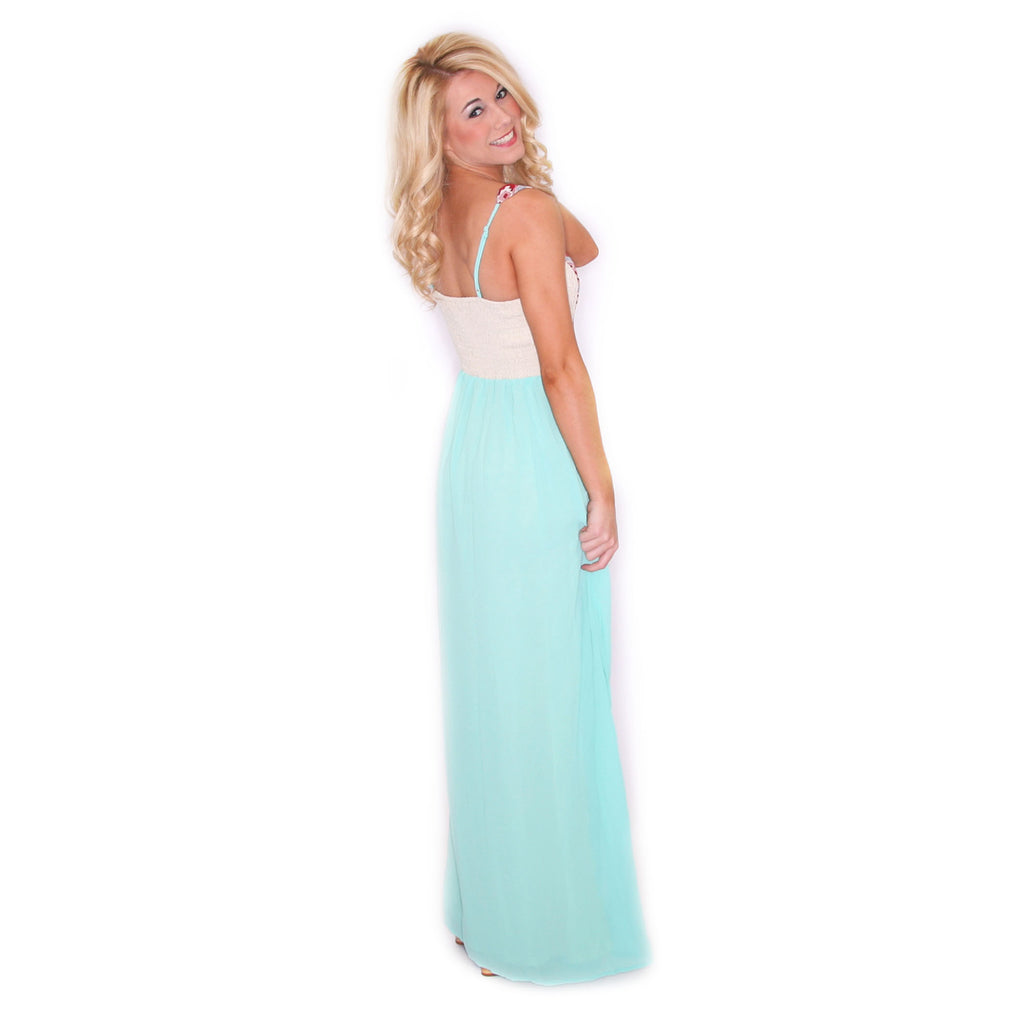 Sea Breeze Maxi Mint