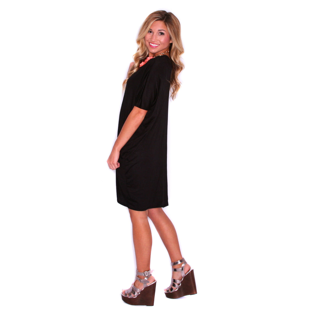 My perfect t shirt dress in black impressions online for Perfect black t shirt