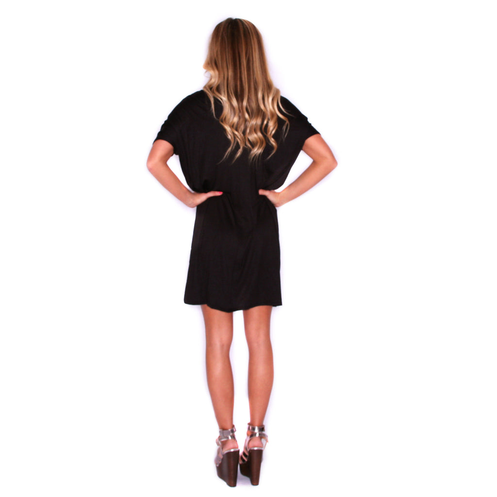My Perfect T-Shirt Dress in Black