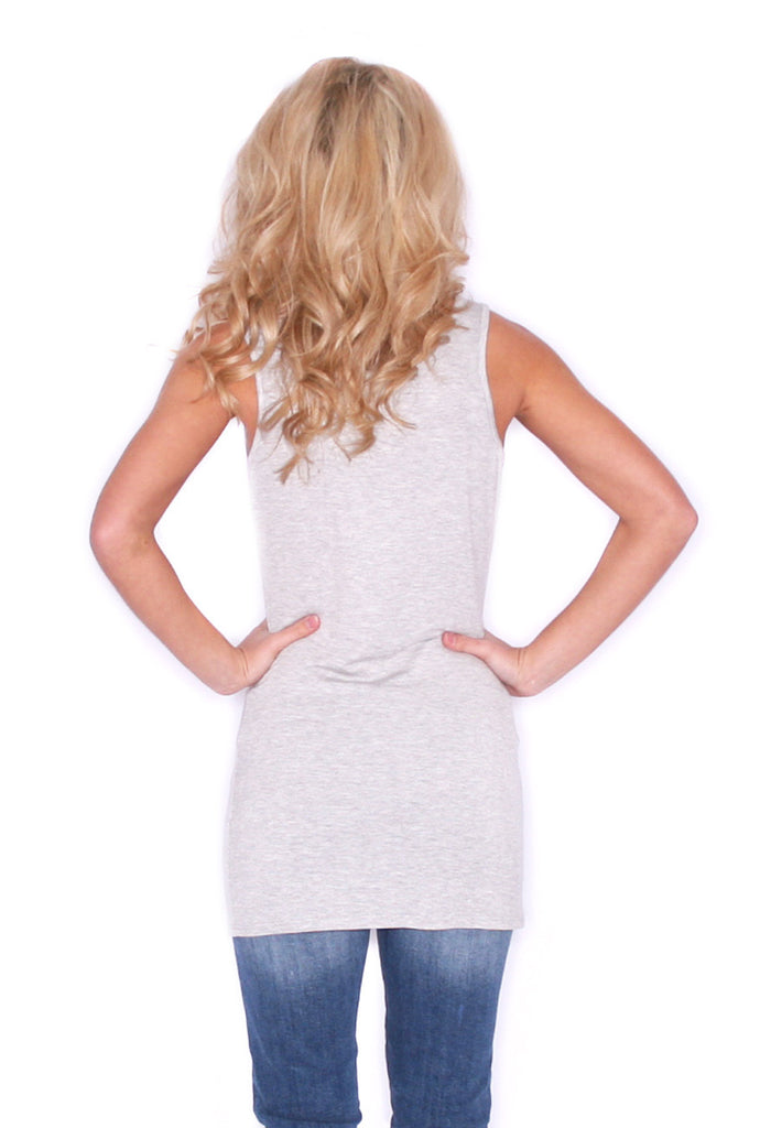 Signature Tank Heather Grey