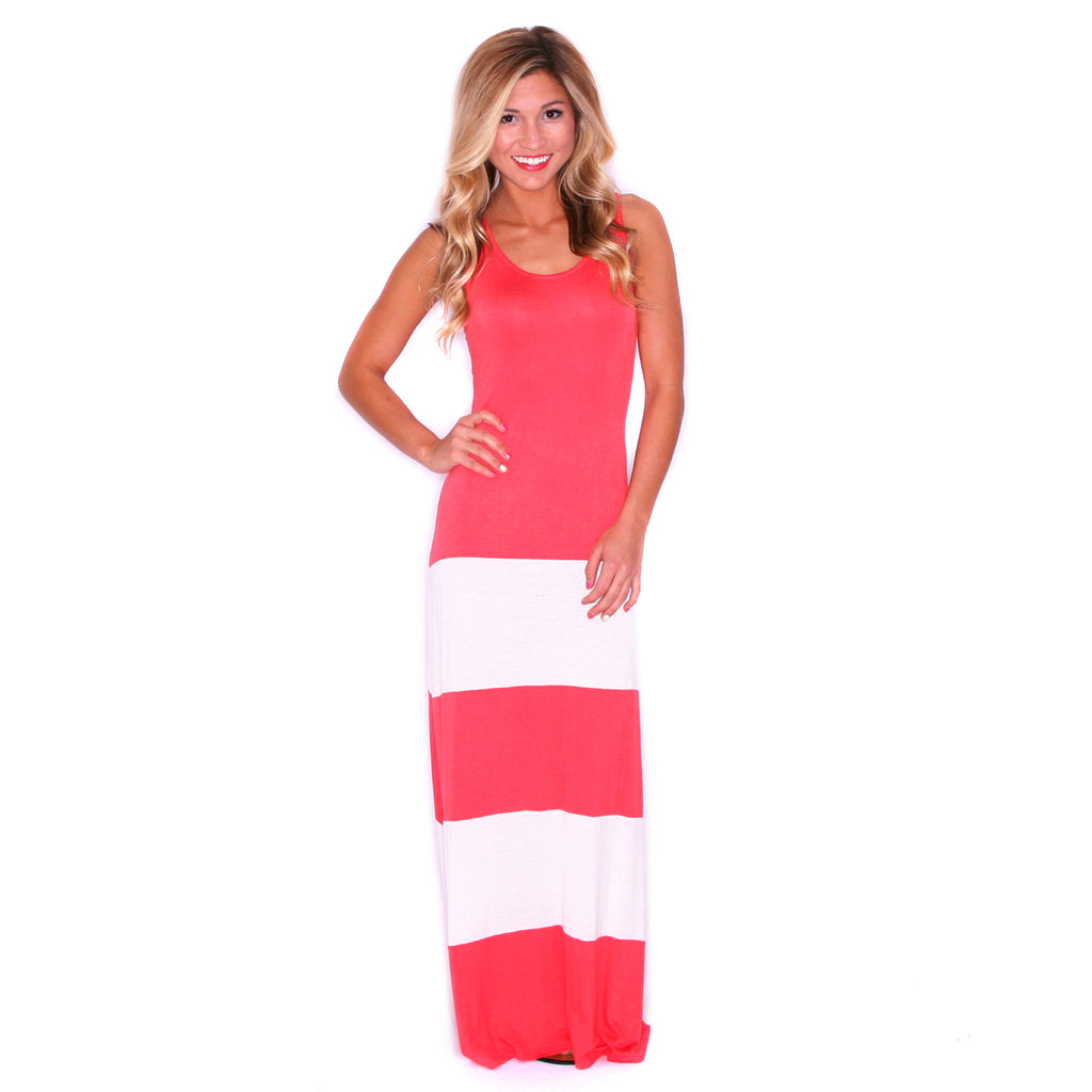 Made To Sizzle Maxi Coral