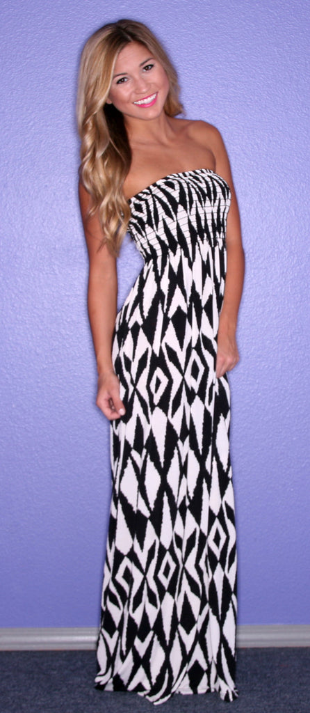 Southern Skies Maxi in Black