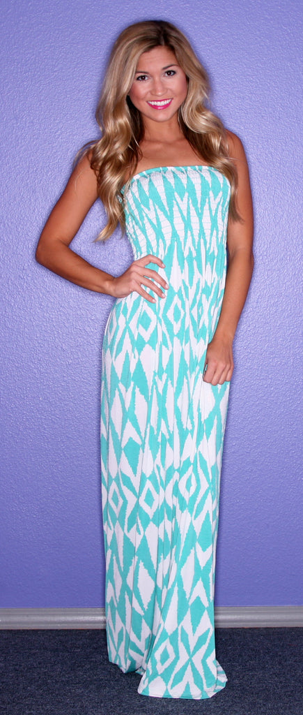 Southern Skies Maxi in Mint
