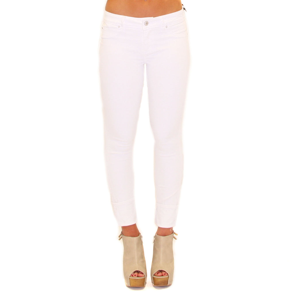 Skinny Crop in White
