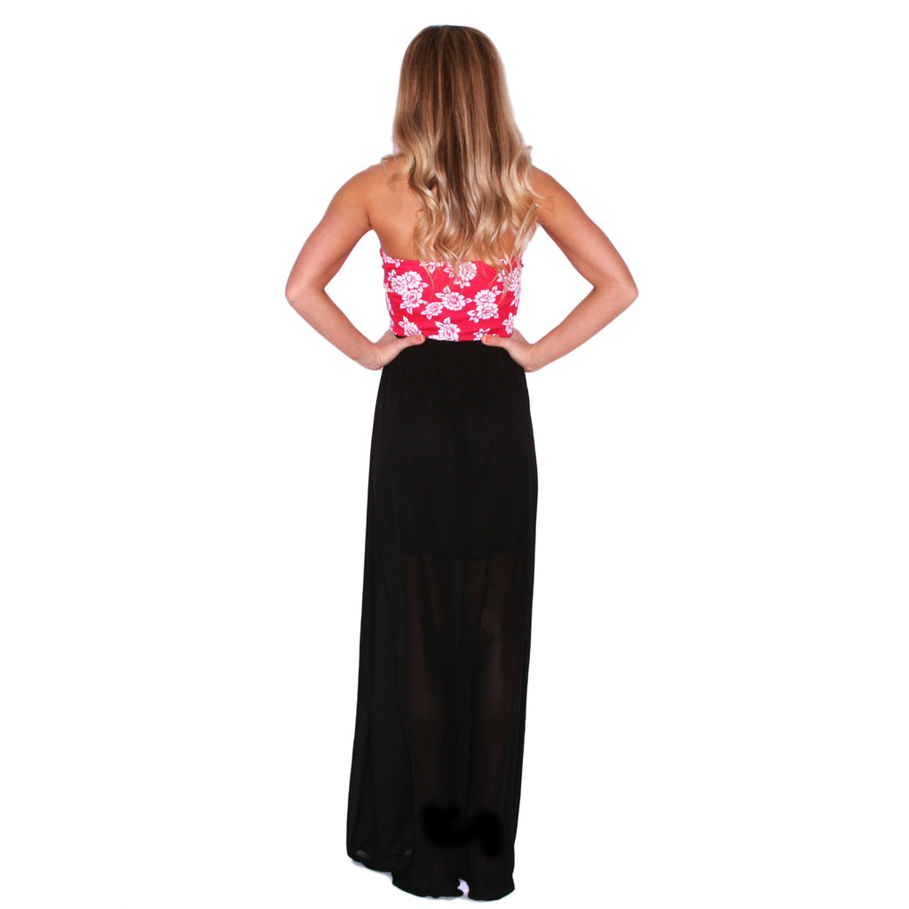 Sleepless In The City Maxi in Black