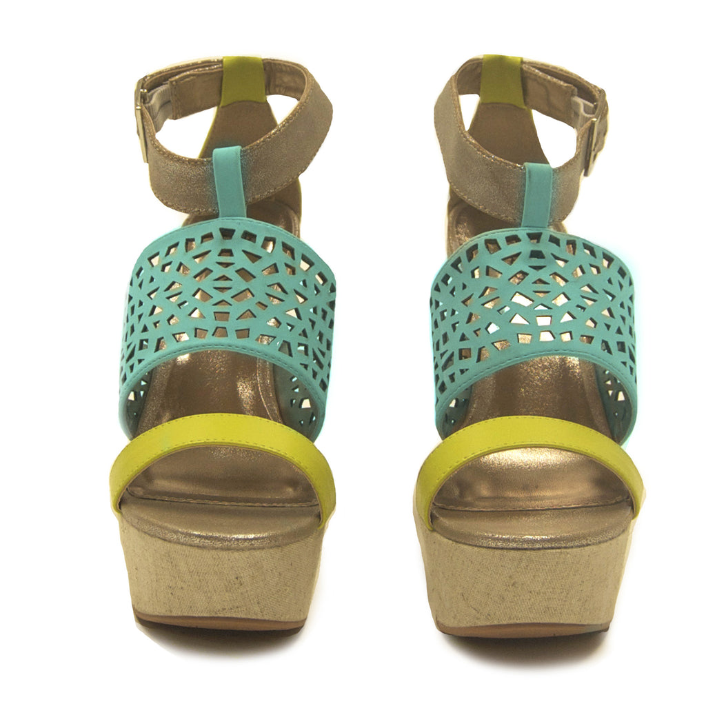 Soho Sweet Wedge in Mint