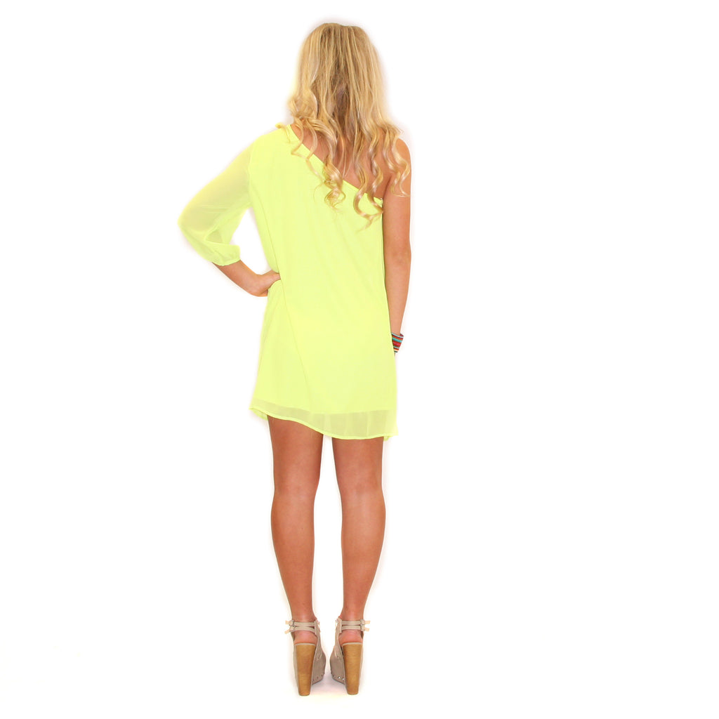 Somebody to Love in Neon Yellow