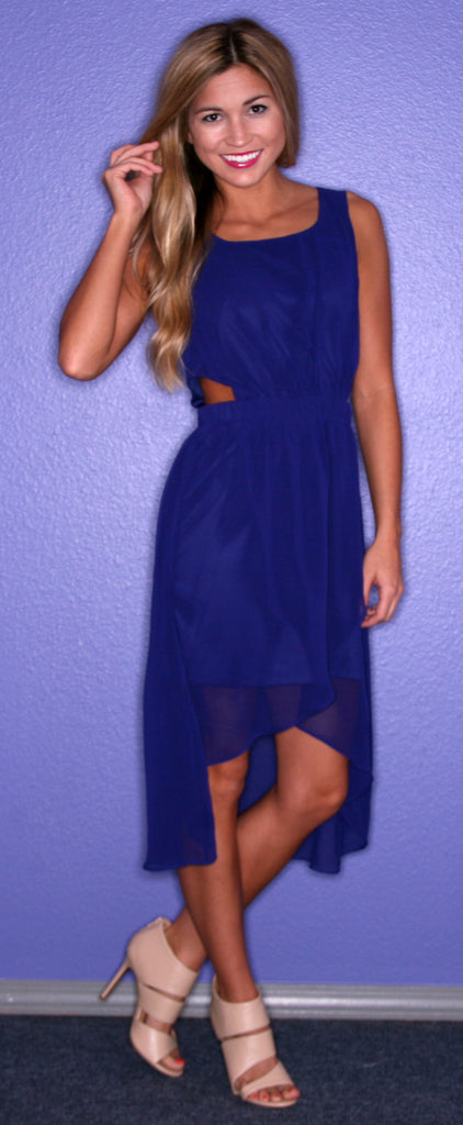Southern Hostess in Blue