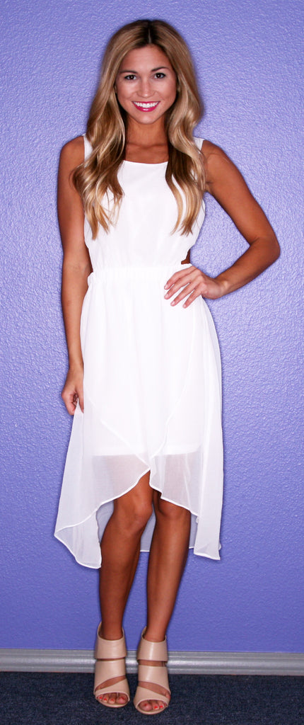 Southern Hostess in White