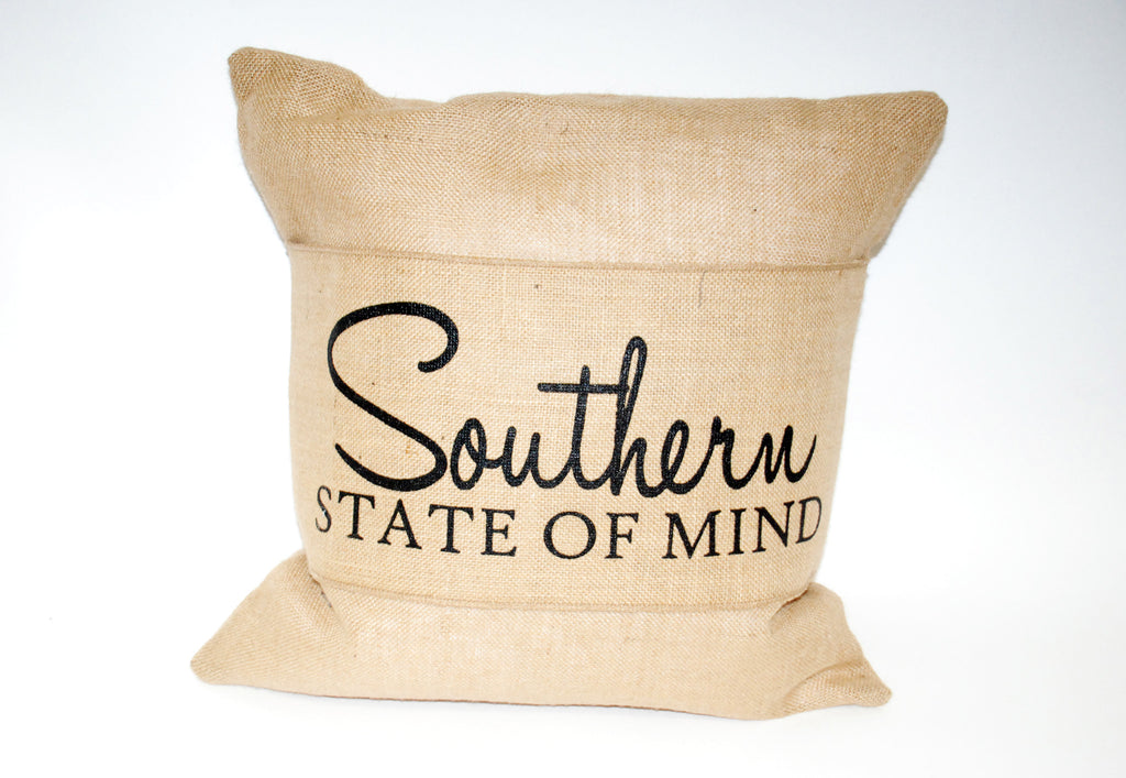 """Southern State"" Pillow"