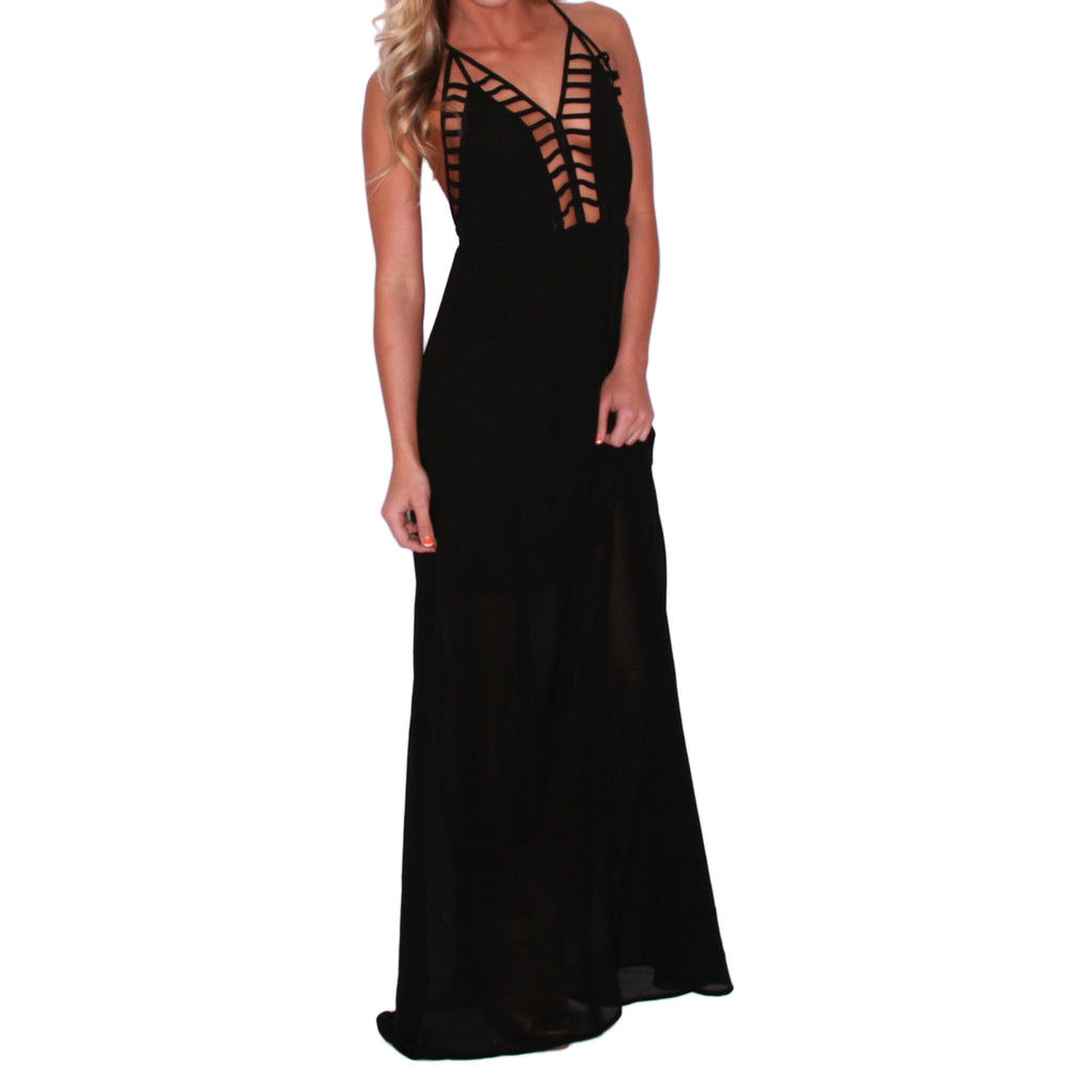 Southern Swank Maxi in Black