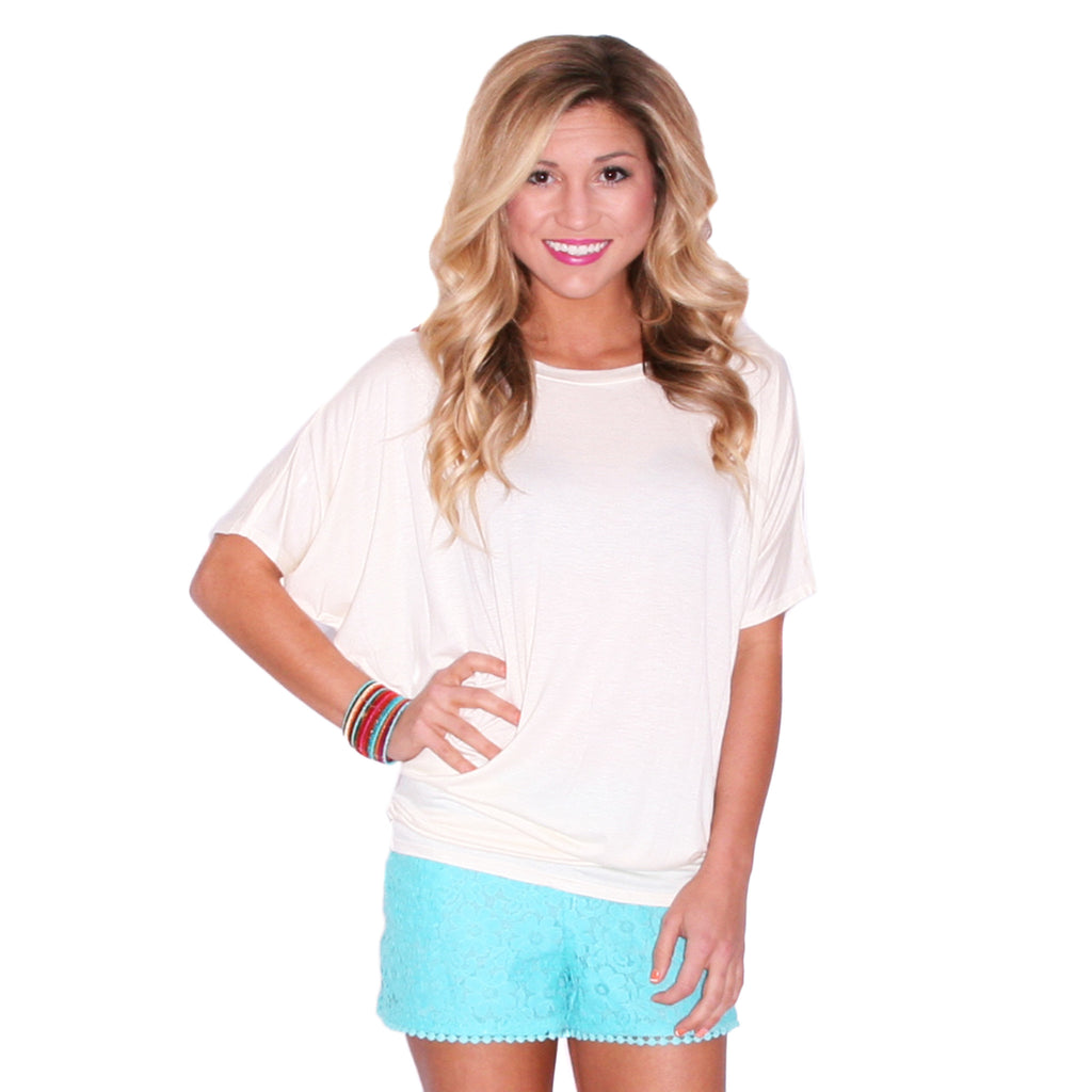 Southern Swank Tee in Ivory