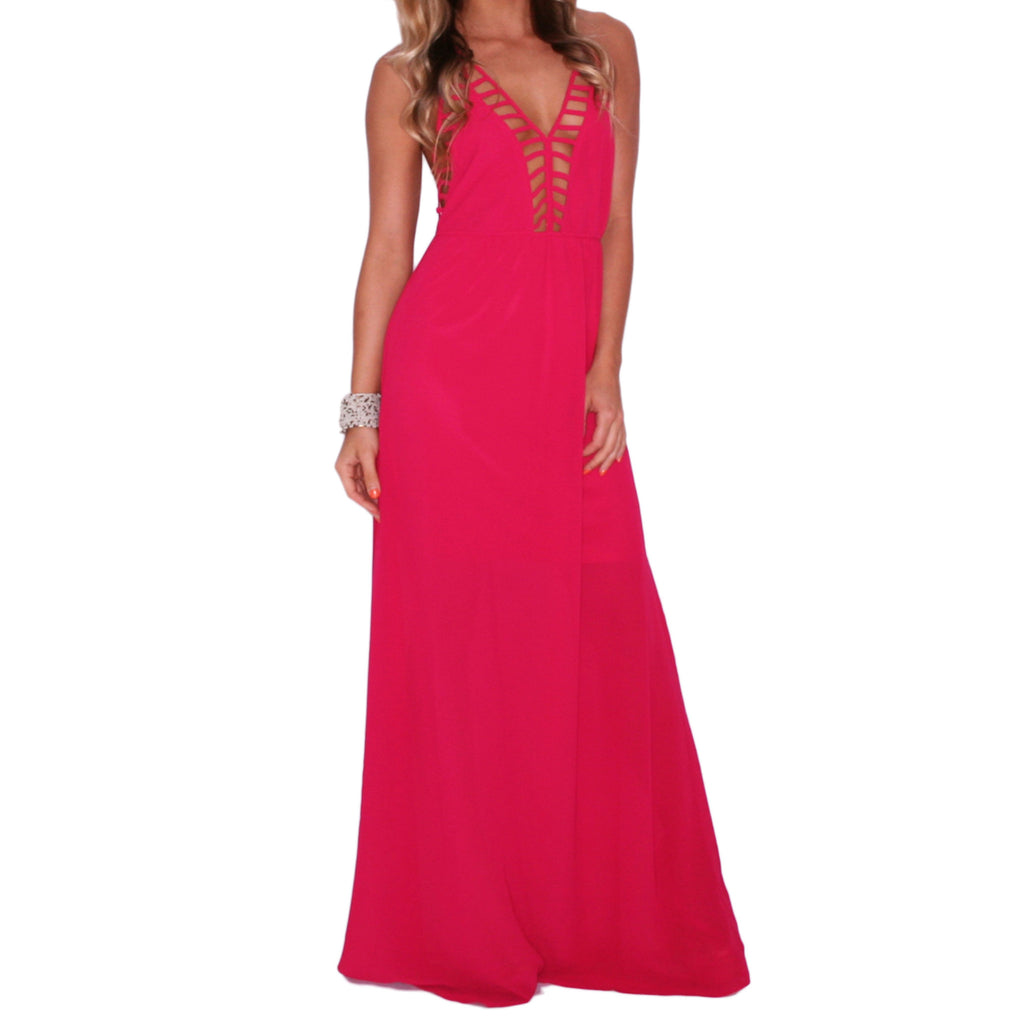 Southern Swank Maxi in Magenta