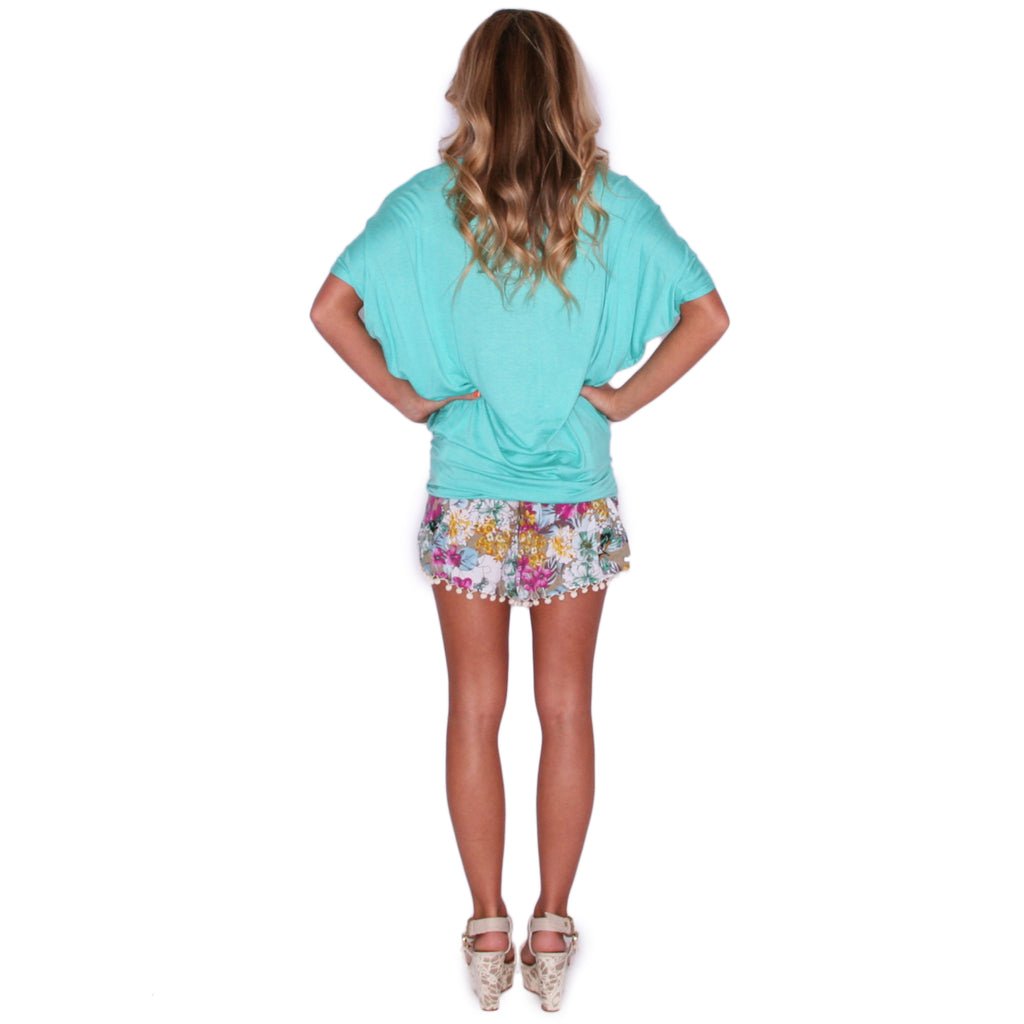 Southern Swank Tee in Mint