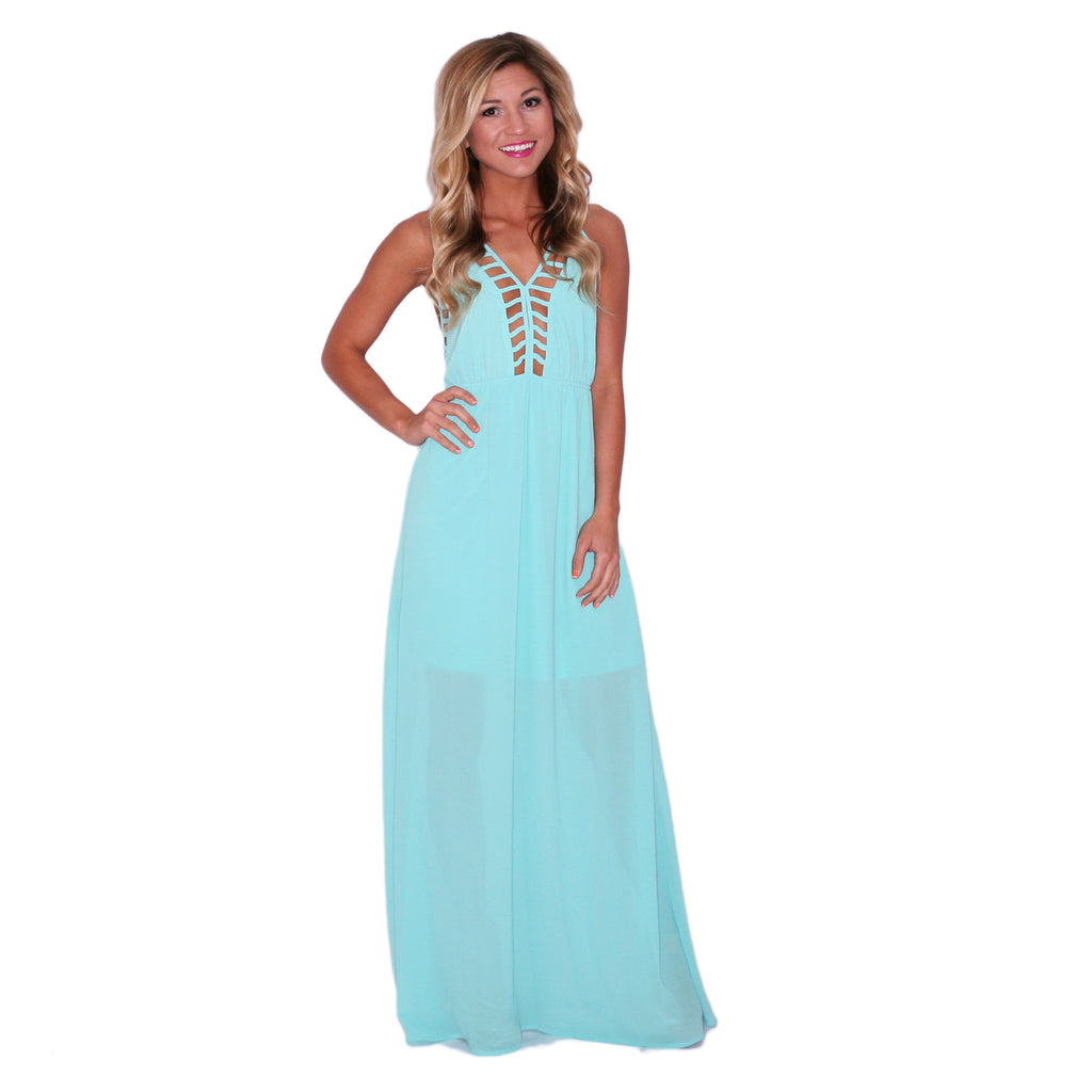 Southern Swank Maxi in Mint