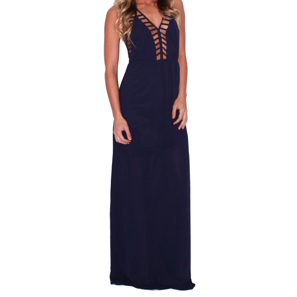Southern Swank Maxi in Navy
