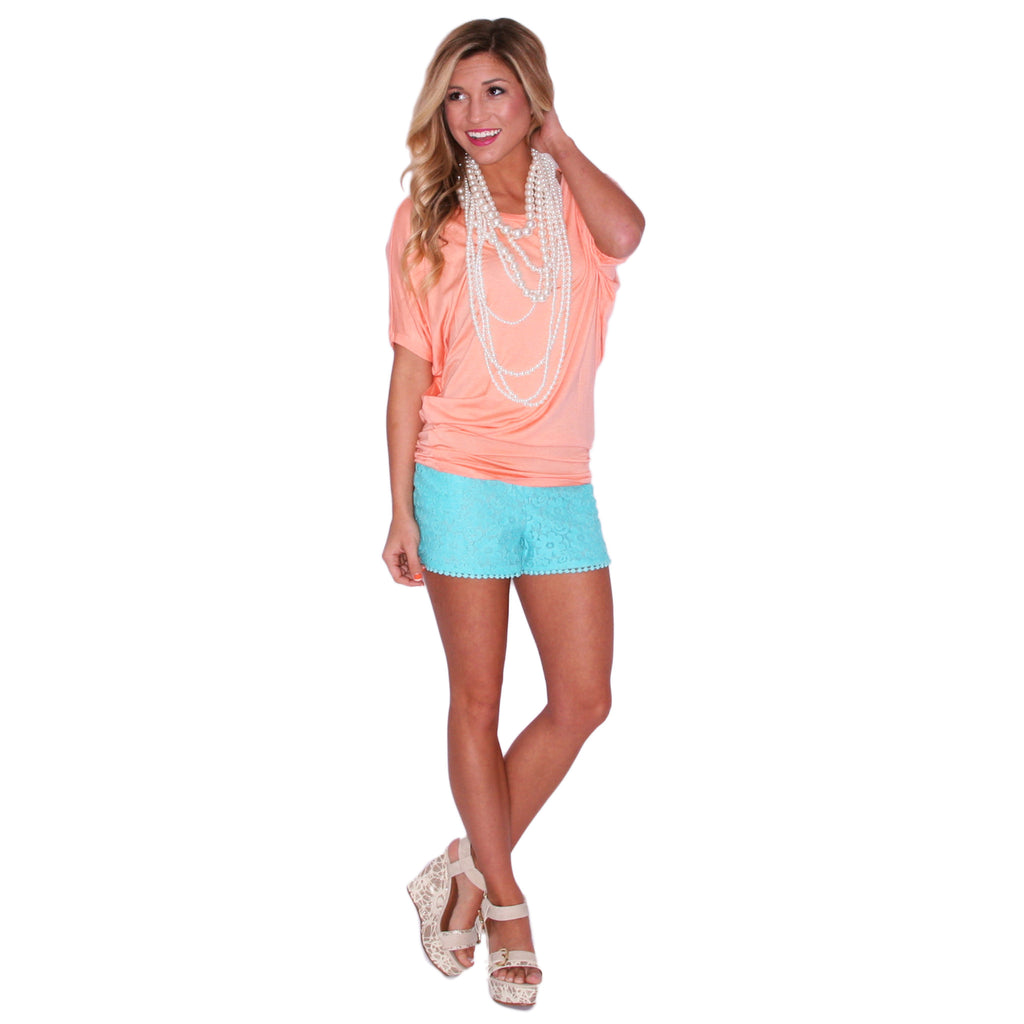 Southern Swank Tee in Peach