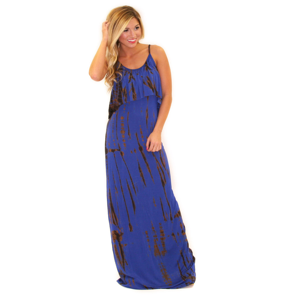 Spring Break Bound Maxi Royal Blue