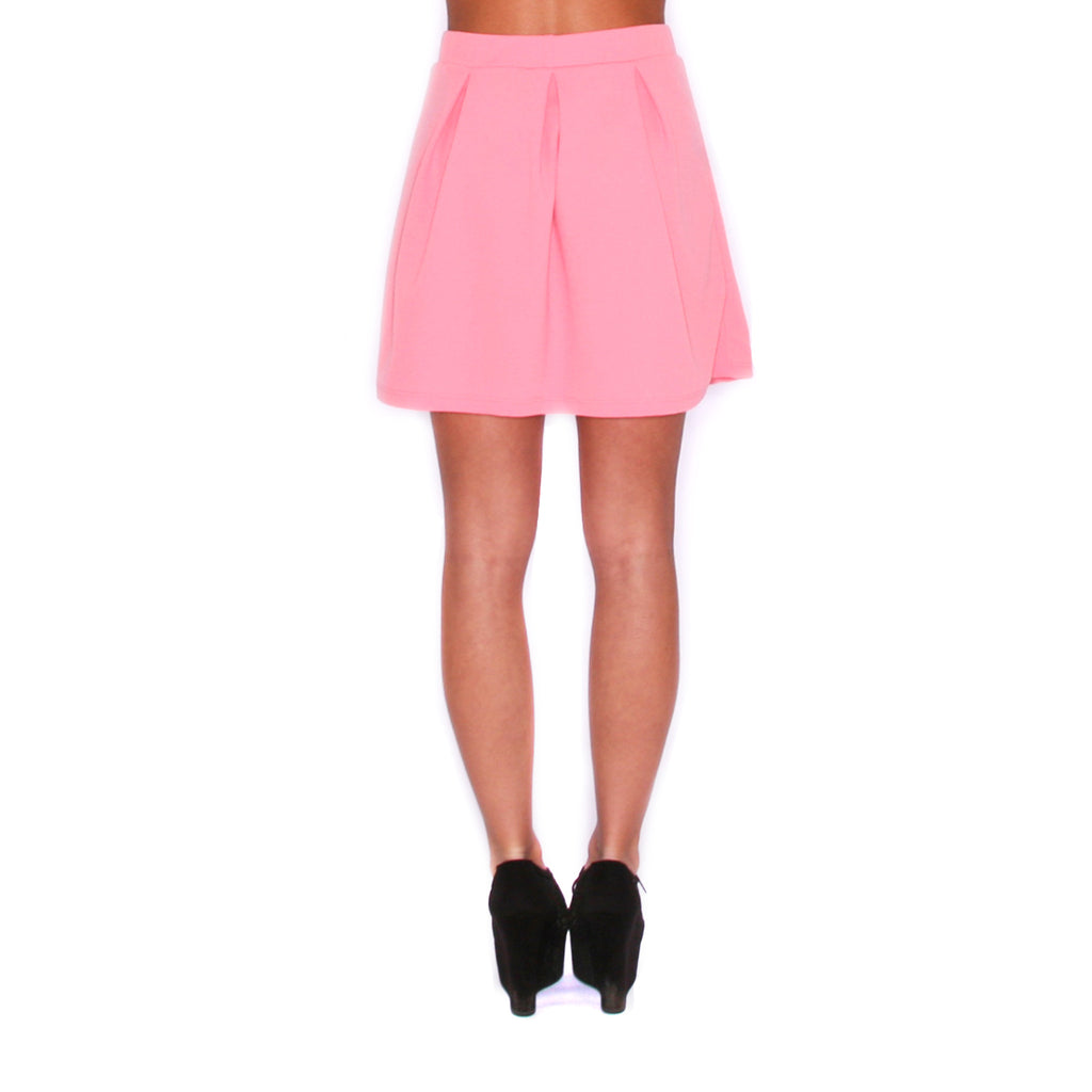 Spring Forward Skirt Coral