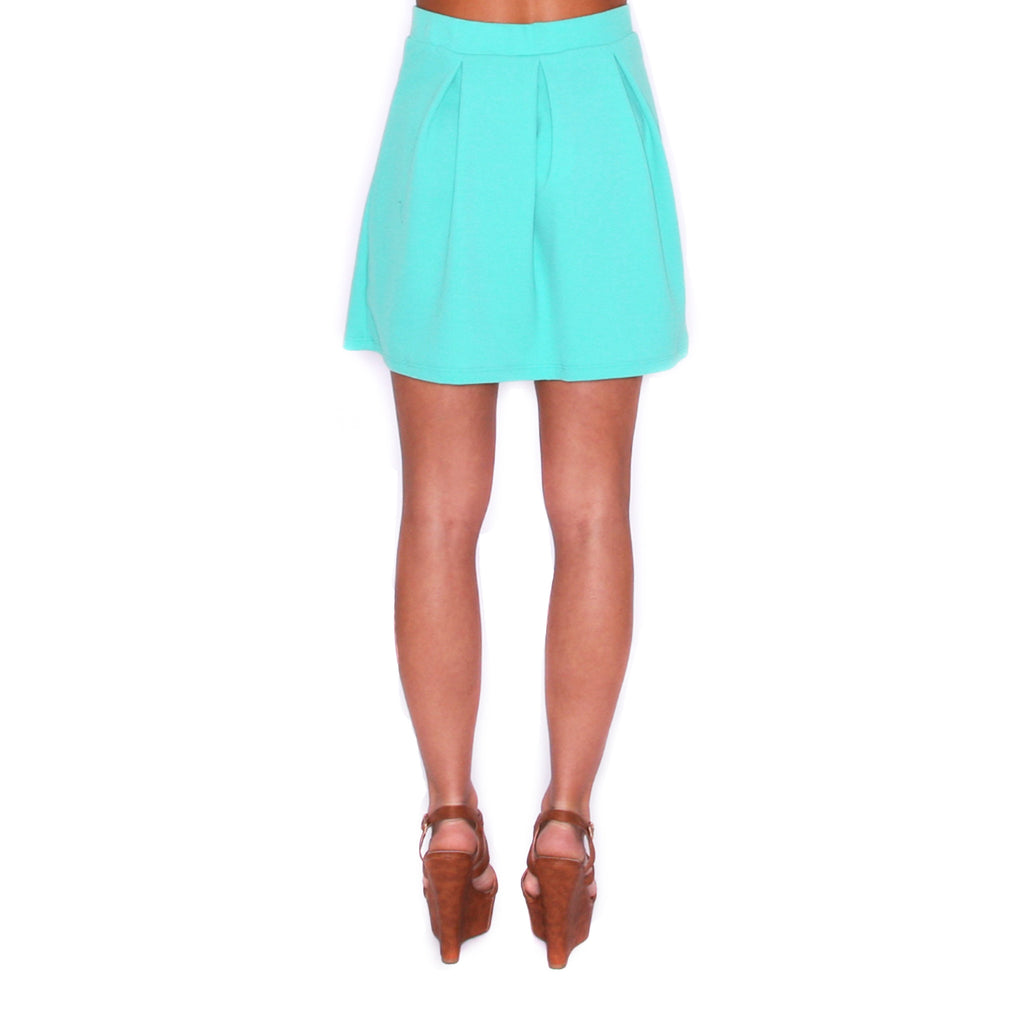Spring Forward Skirt Jade