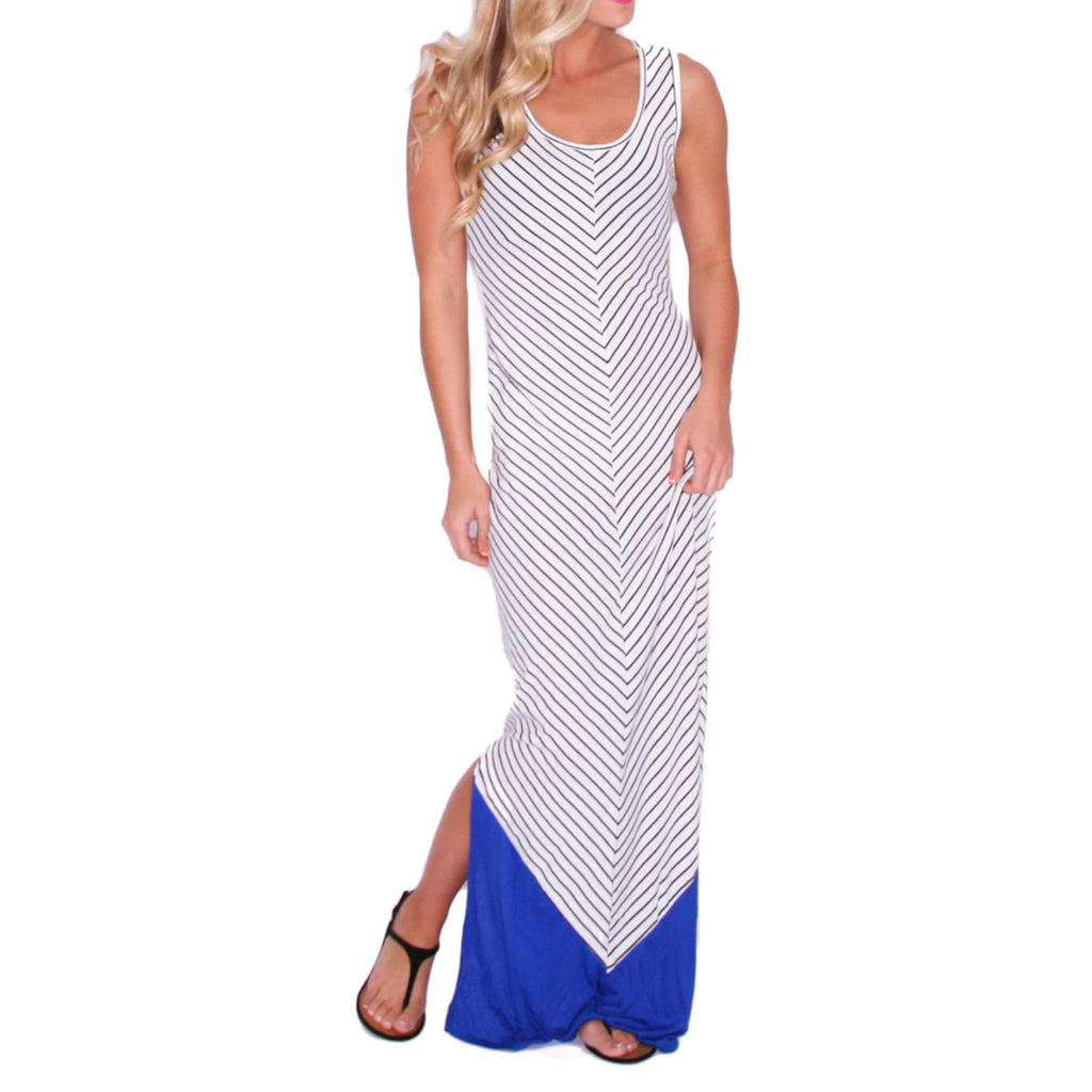 Stay Inspired Maxi in Blue