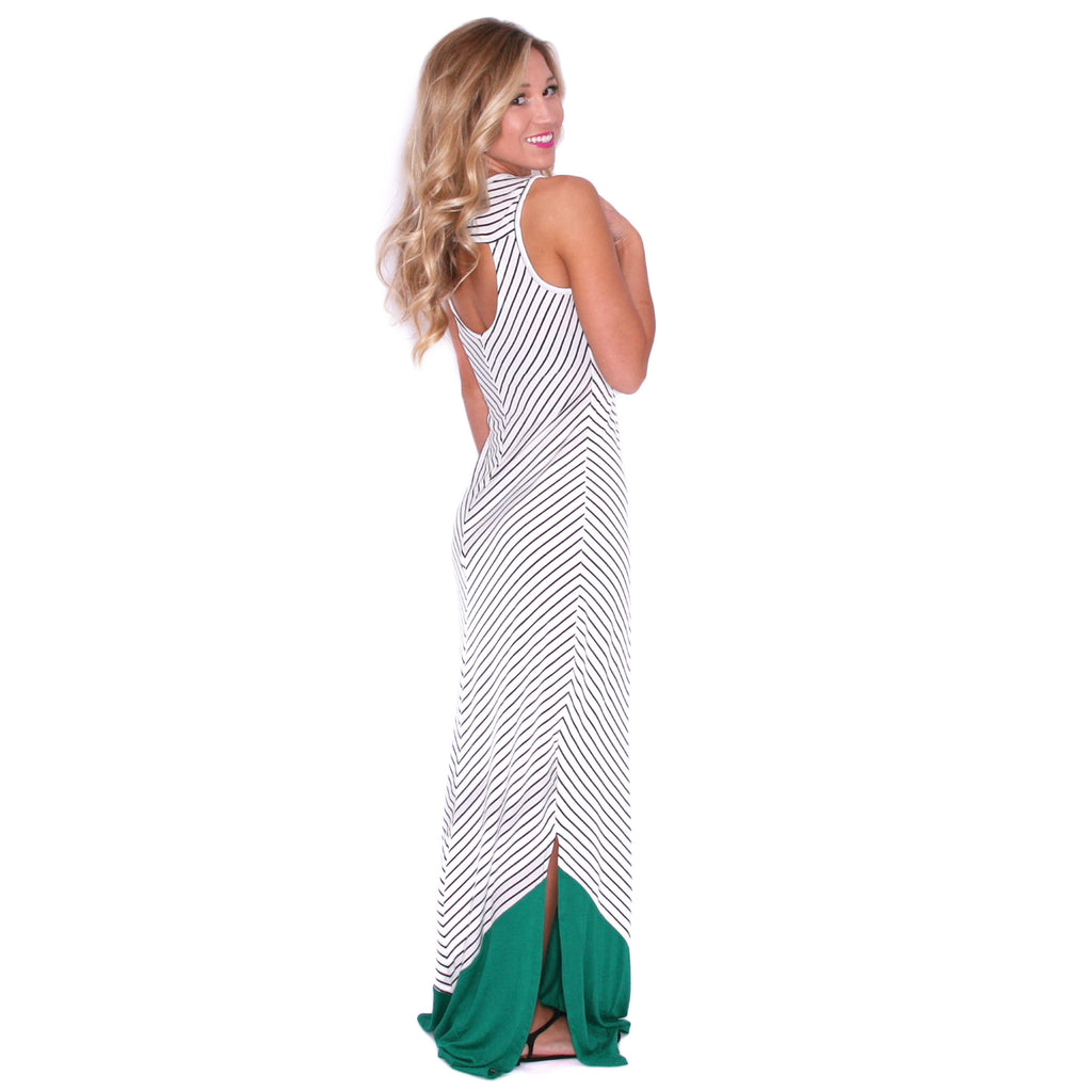 Stay Inspired Maxi in Green