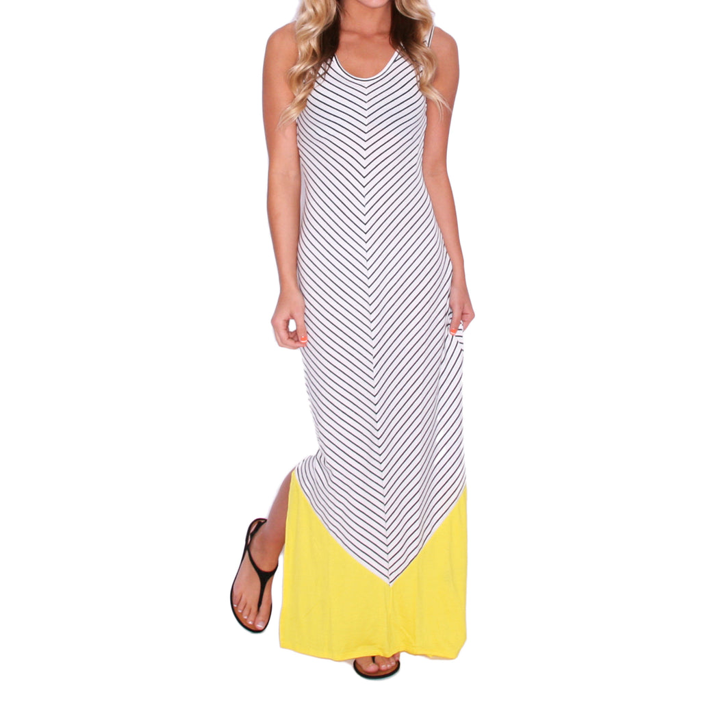 Stay Inspired Maxi in Yellow