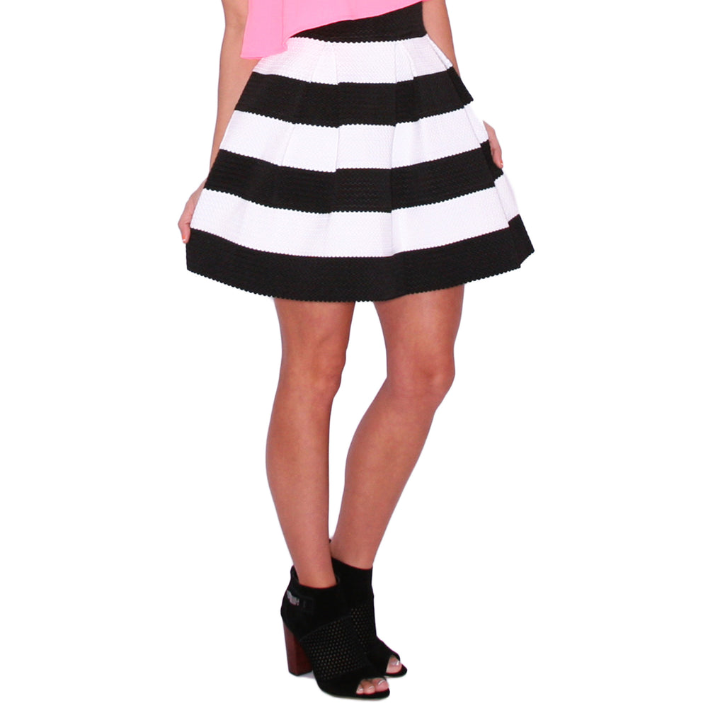 Striped Amore Skirt