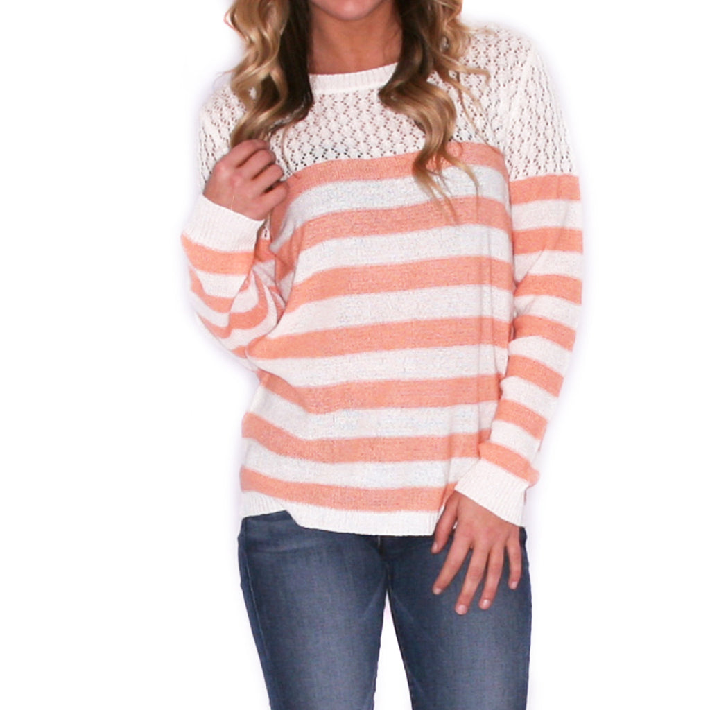 Striped Crush Peach