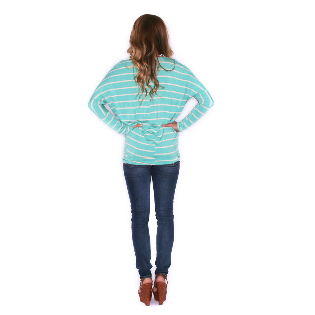Striped In Style Mint