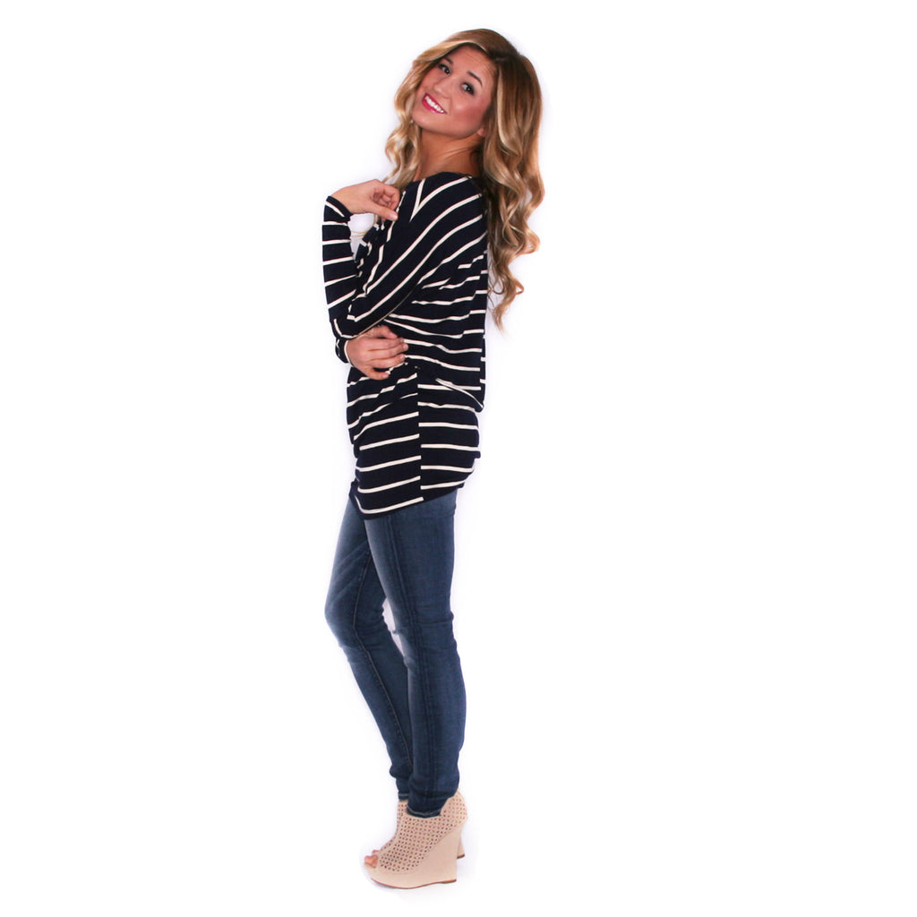 Striped In Style Navy