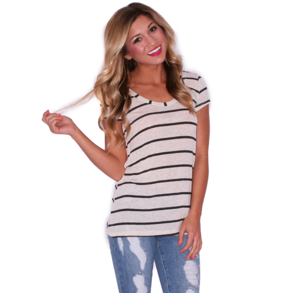 Stripes That Thrill Top