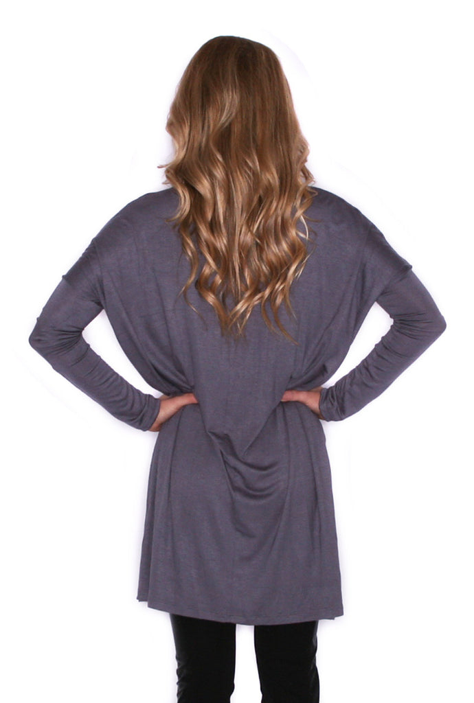 Style For Days Tunic Grey