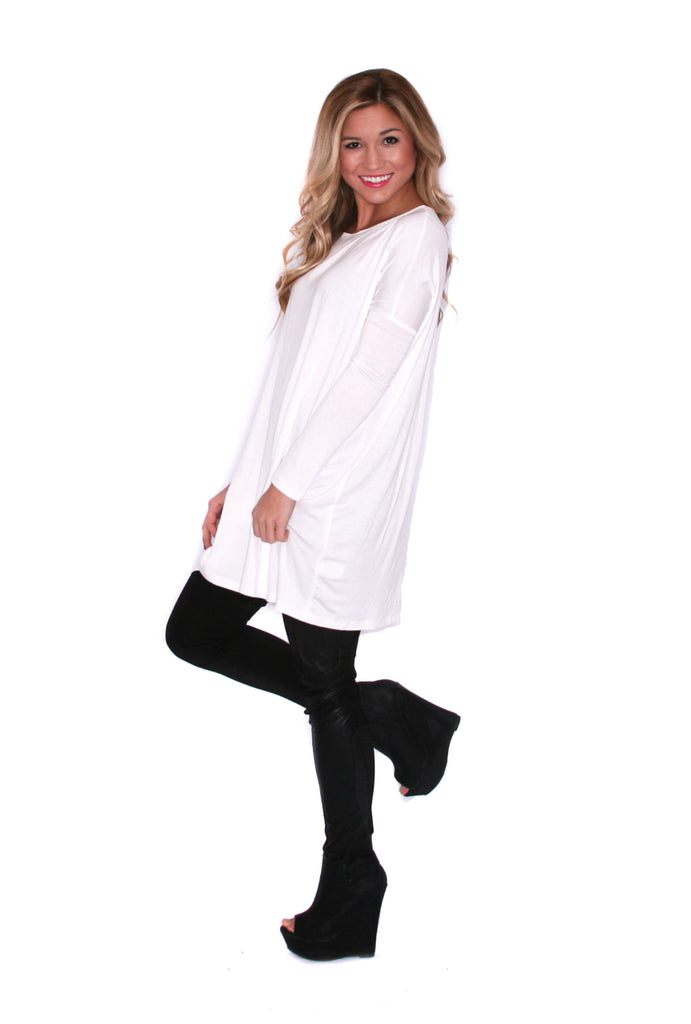 Style For Days Tunic Ivory