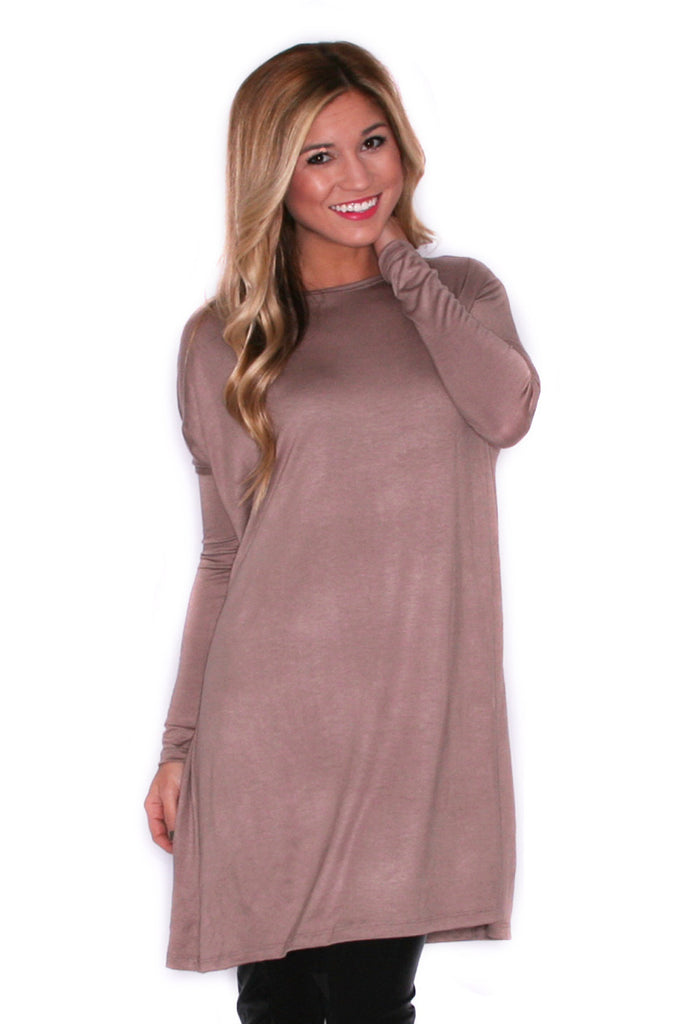 Style For Days Tunic Mocha