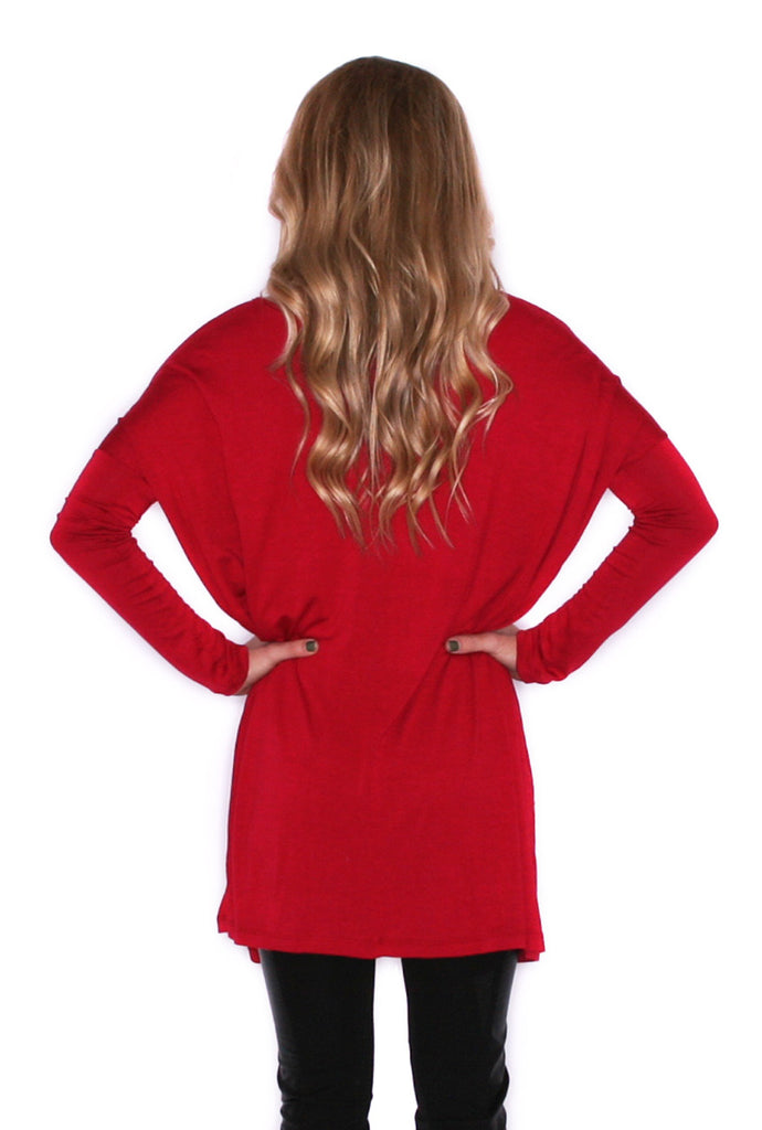 Style For Days Tunic Red