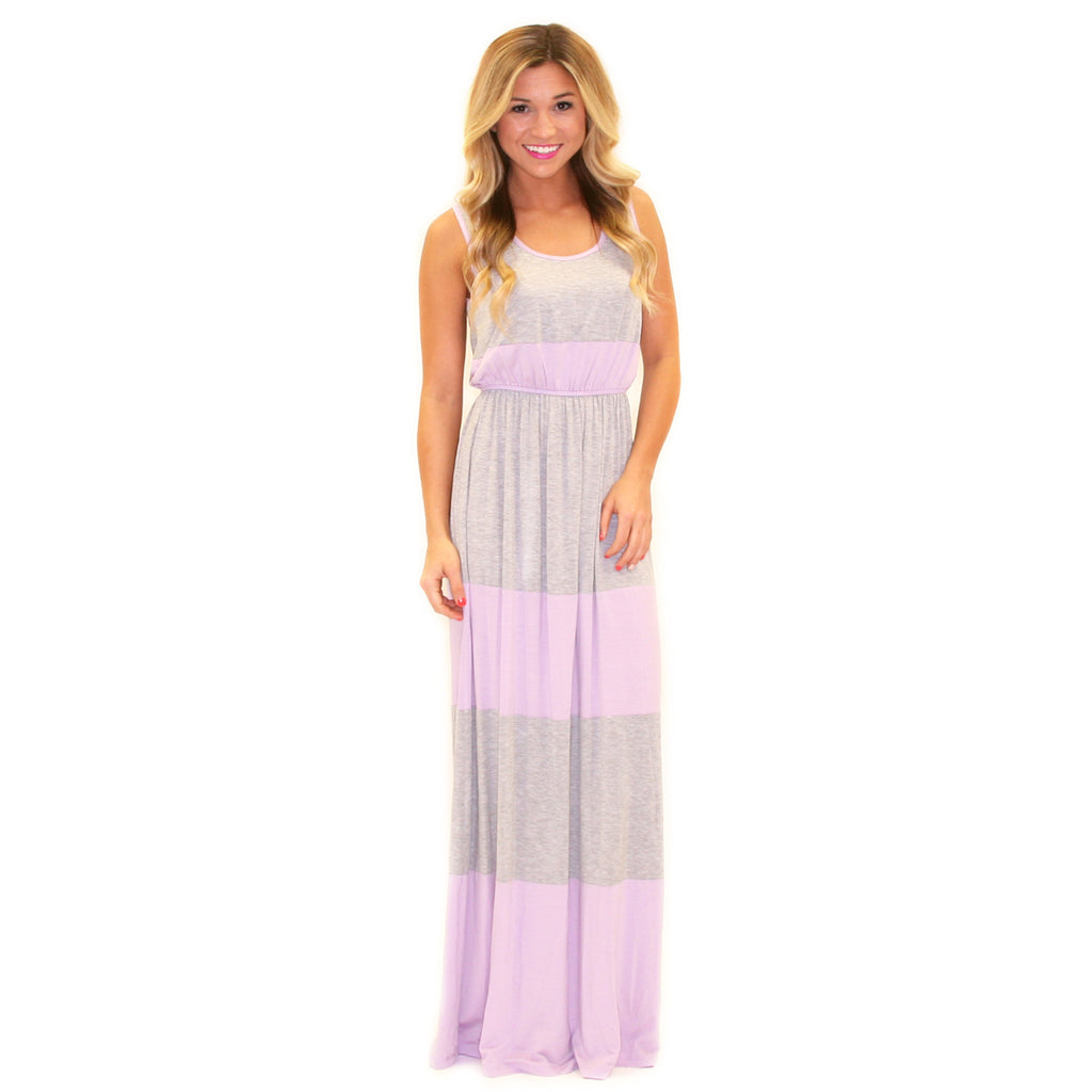 Summer Breeze Maxi Lavender