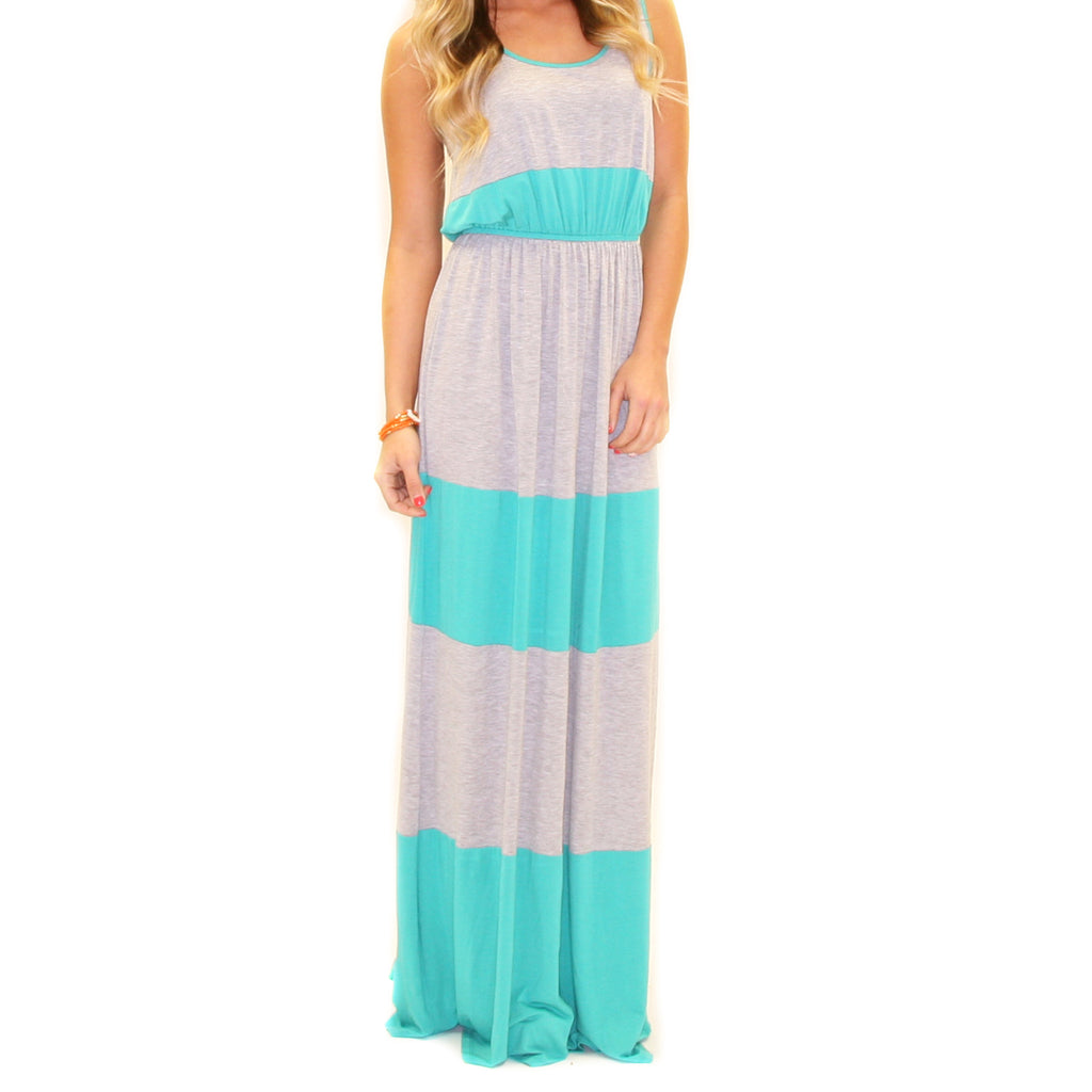 Summer Breeze Maxi Teal