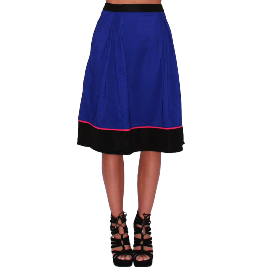Summer Brunching Skirt in Blue